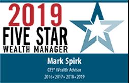 Five Star Wealth Manager Mark Spirk, MBA, CFP®